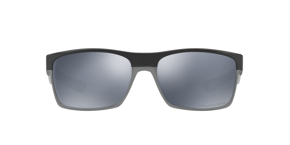 OAKLEY Black Shiny OO9189 TWOFACE Grey polarized lenses 60mm