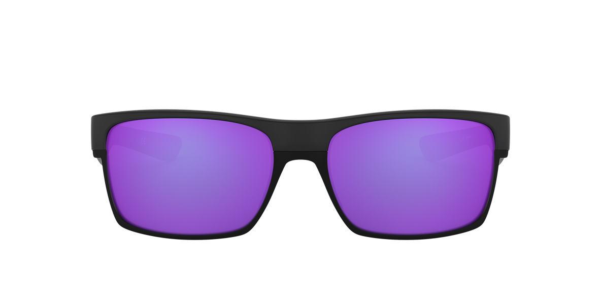 black and blue oakley sunglasses wseu  Oakley OO9189 TWOFACE 60 Purple & Black Sunglasses  Sunglass Hut United  Kingdom