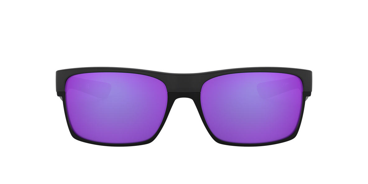 OAKLEY Black OO9189 TWOFACE Purple lenses 60mm