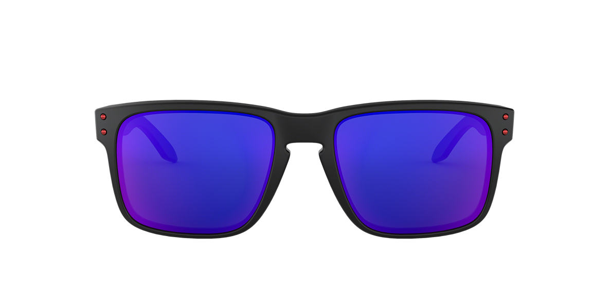 OAKLEY Black Matte OO9102 HOLBROOK Blue lenses 55mm