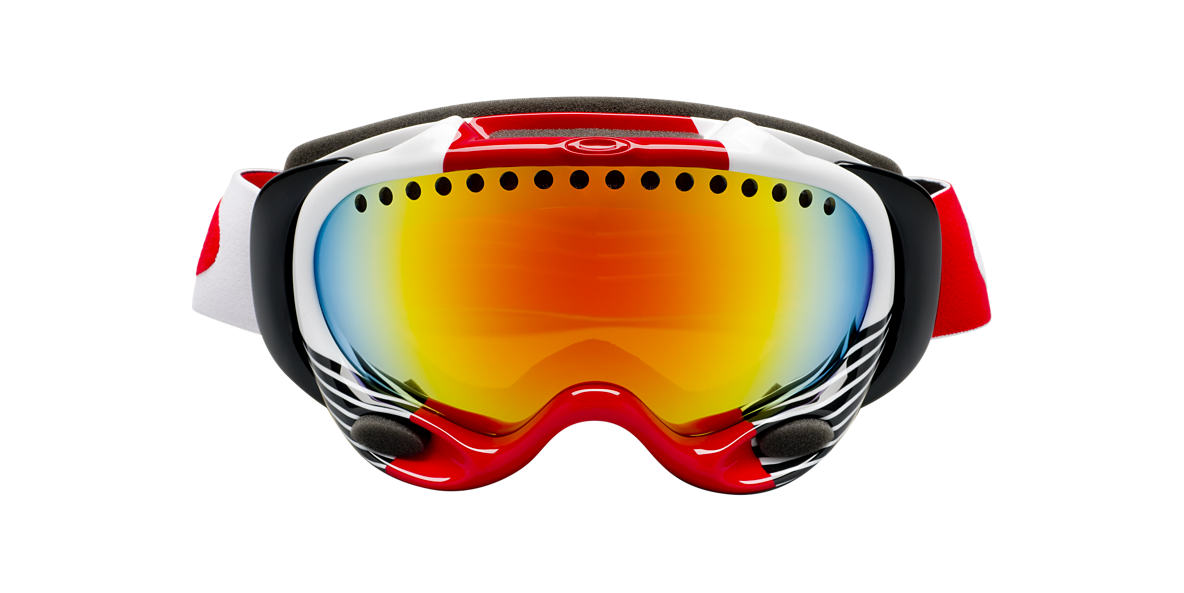 OAKLEY White OO7001 A FRAME-SHAUN WHITE Orange lenses mm