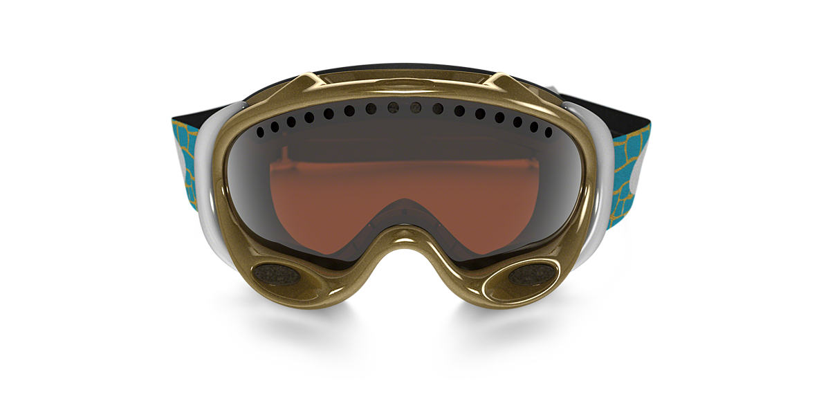 OAKLEY Gold OO7001 A FRAME LINDSEY VONN Black lenses mm