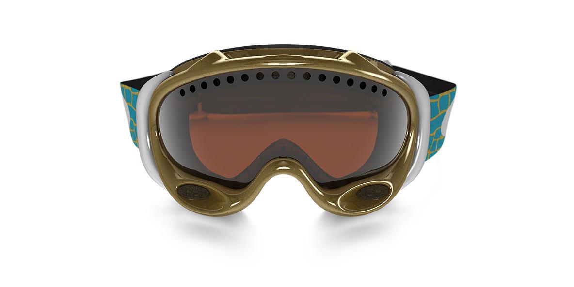 OAKLEY Gold OO7001 A FRAME LINDSEY VONN Black lenses mm