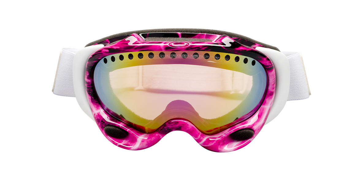 OAKLEY White OO7001 A FRAME Pink lenses 00mm