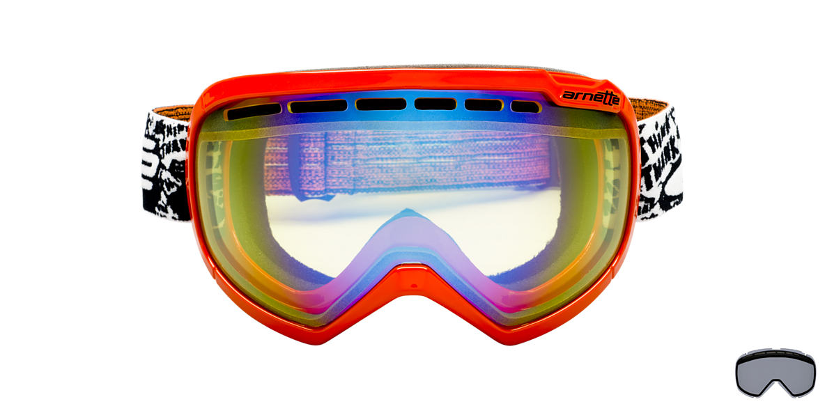 ARNETTE GOGGLES White AN5004 SKYLIGHT Yellow lenses mm