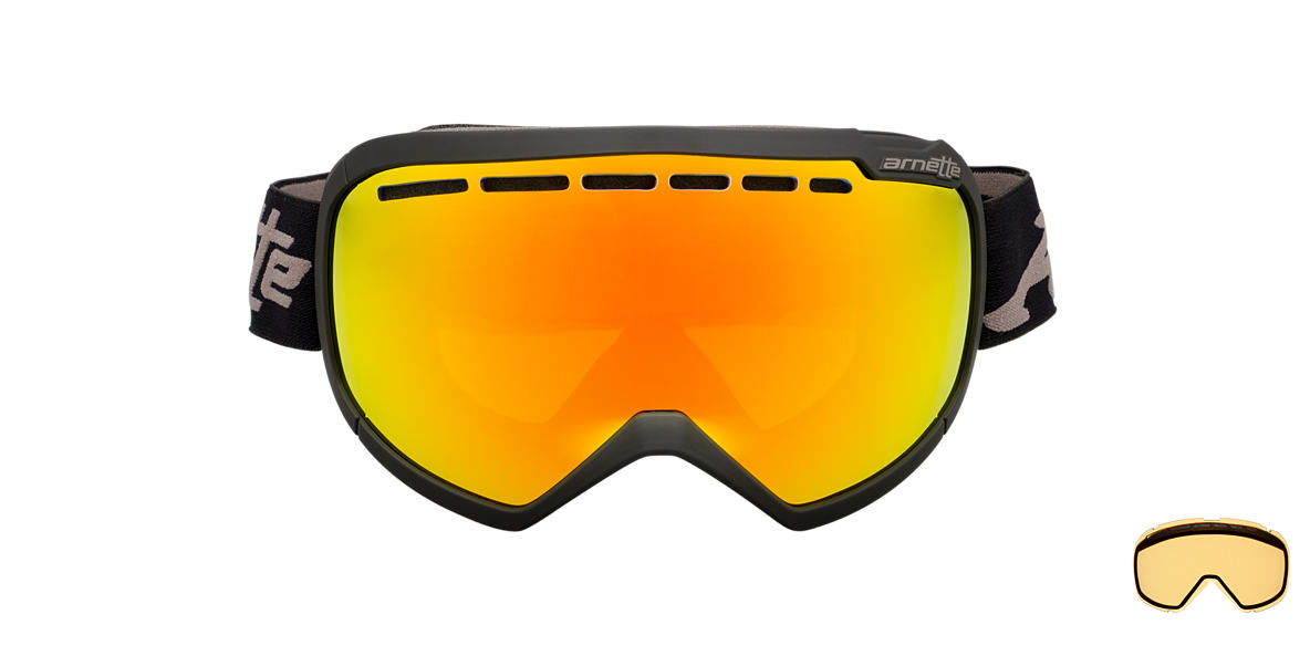 ARNETTE GOGGLES Black AN5004 SKYLIGHT Orange lenses mm