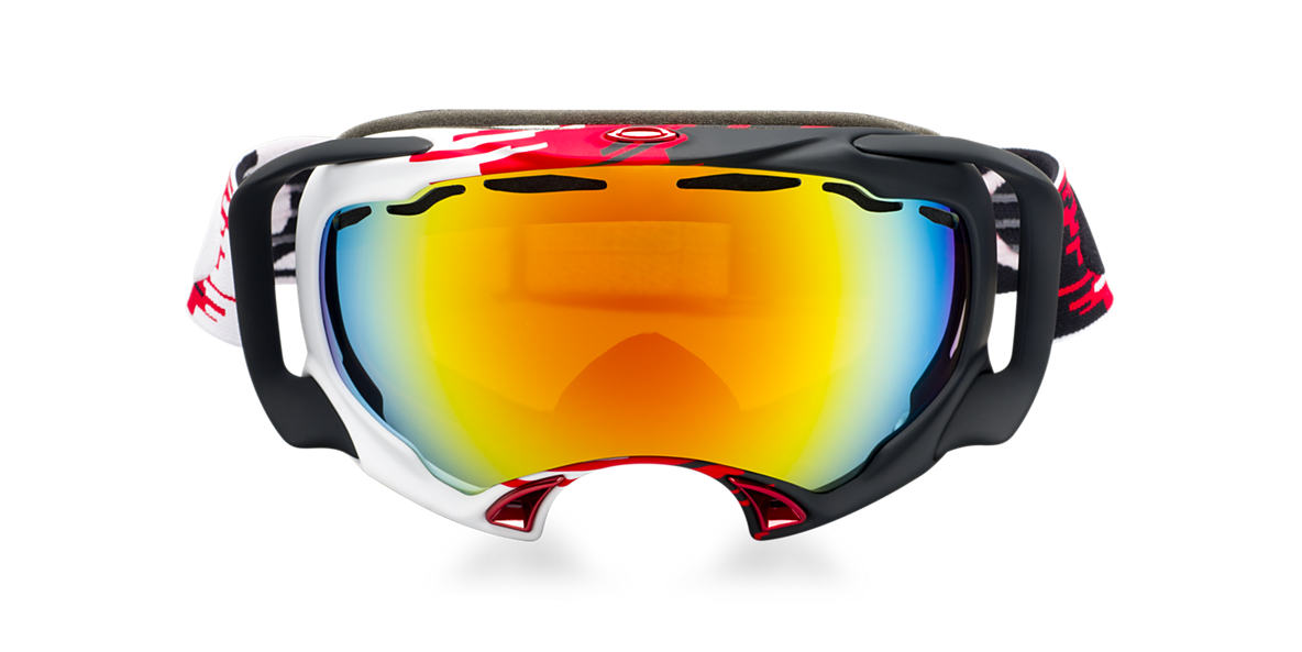 OAKLEY White OO7022 SPLICE Orange lenses 57mm