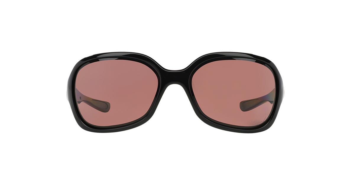 OAKLEY WOMENS Black OO9198 PULSE Grey polarized lenses 61mm