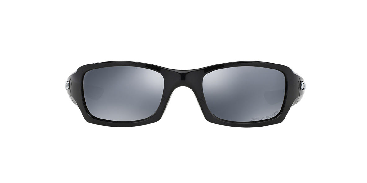black polarized oakley sunglasses 5xfr  Oakley OO9238 FIVES SQUARED 54 Black & Black Polarized Sunglasses  Sunglass  Hut USA