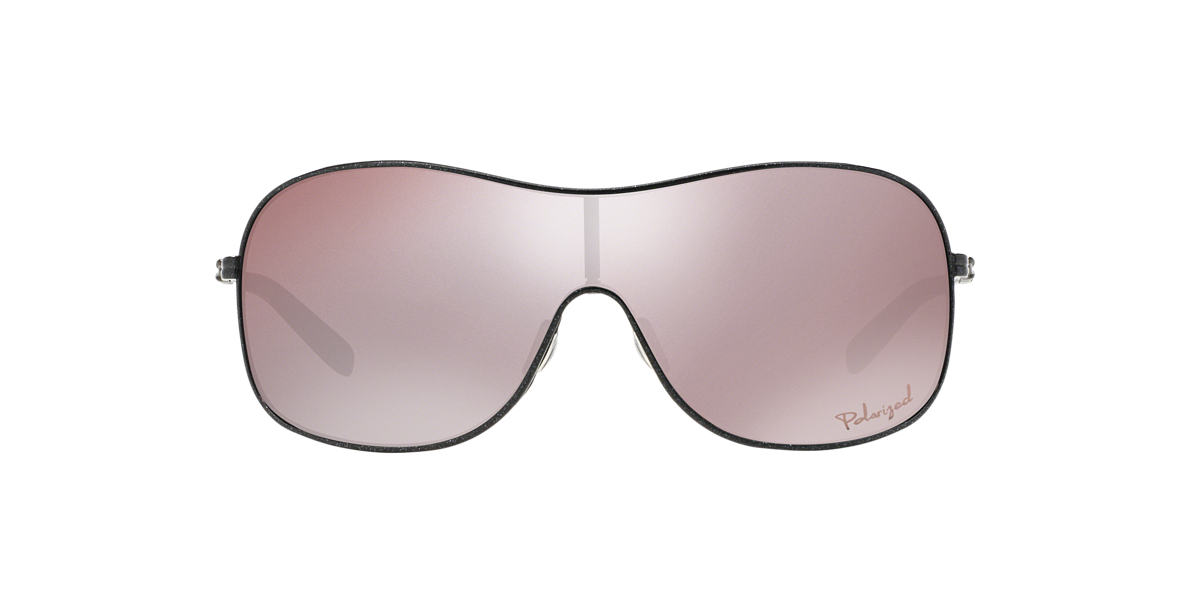 OAKLEY WOMENS Black OO4078 Black polarised lenses 13mm