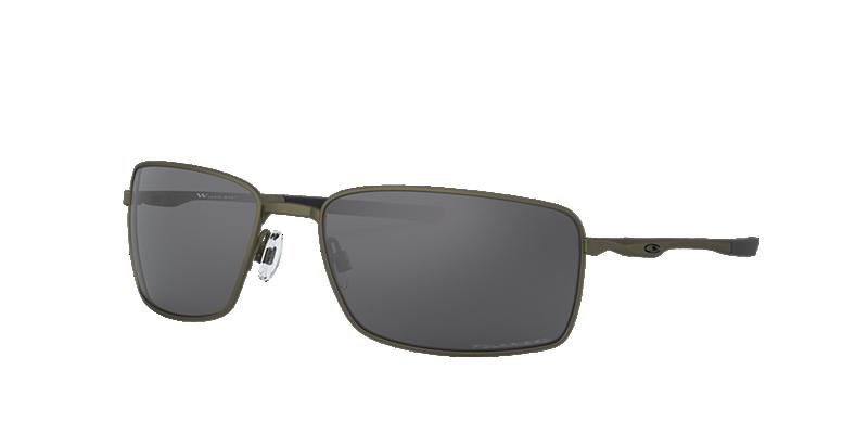 5664080259b7 Oakley Square Wire Polarized Sunglasses- Carbon grey