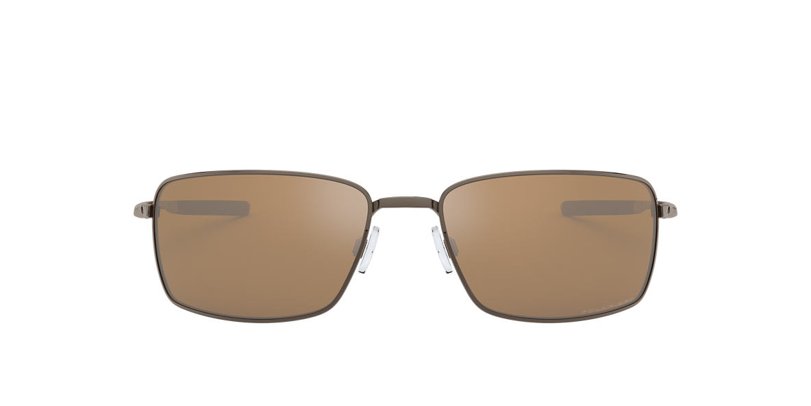 OAKLEY Brown OO4075 SQUARE WIRE Brown polarized lenses 60mm