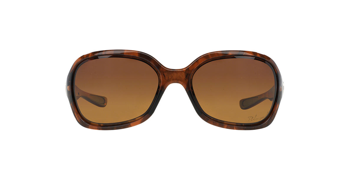 OAKLEY WOMENS Brown OO9198 PULSE Brown polarized lenses 61mm