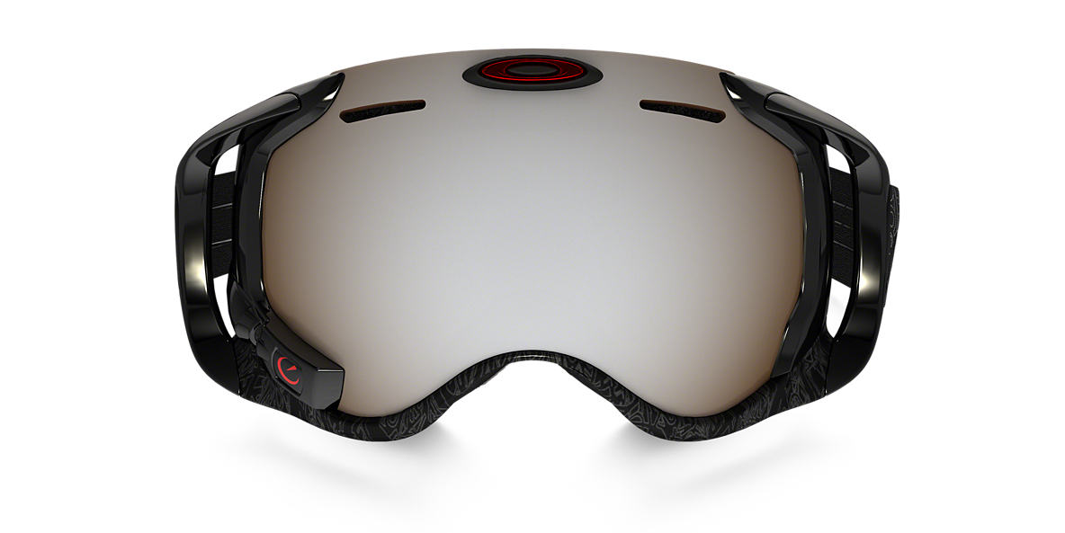 OAKLEY Black OO7049 AIRWAVE Black lenses 00mm