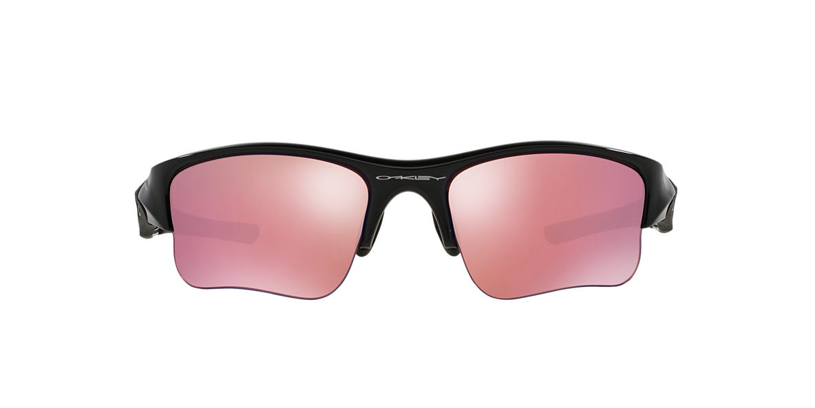 OAKLEY Black Shiny OO9009 FLAK JACKET XLJ Pink lenses 63mm