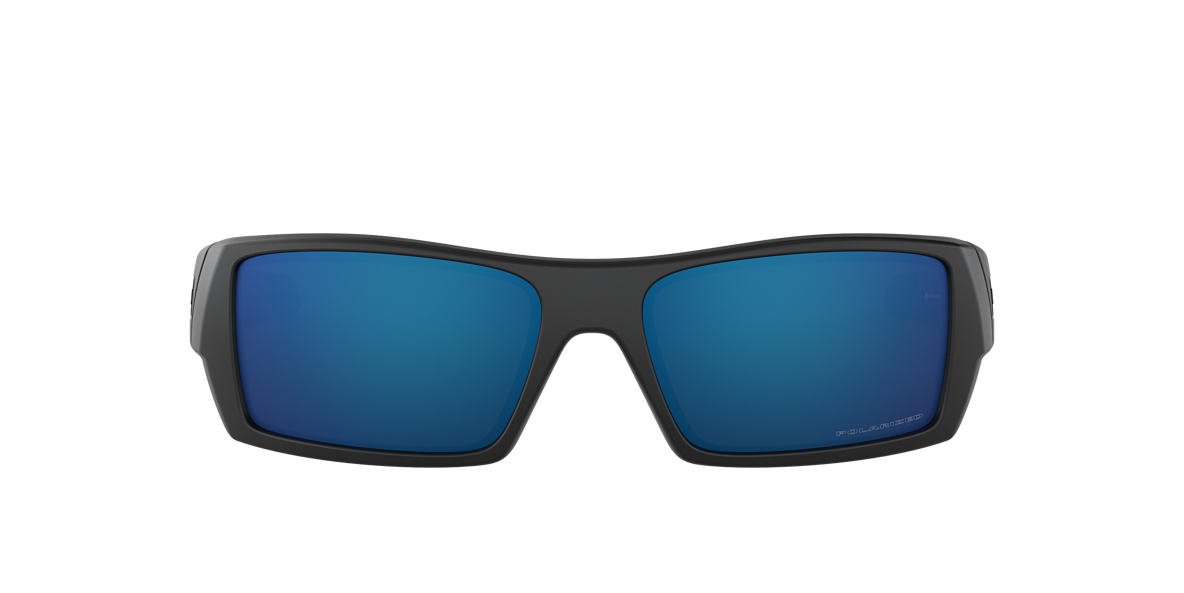 OAKLEY Black Matte OO9014 GASCAN Blue polarized lenses 60mm