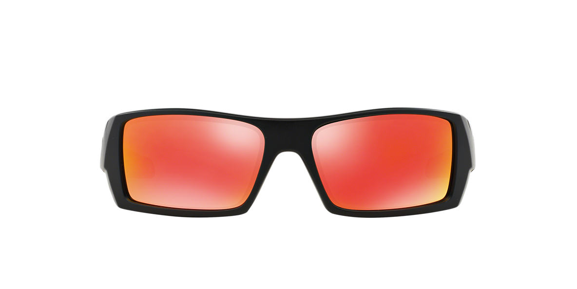 OAKLEY Black Matte OO9014 GASCAN Red lenses 60mm