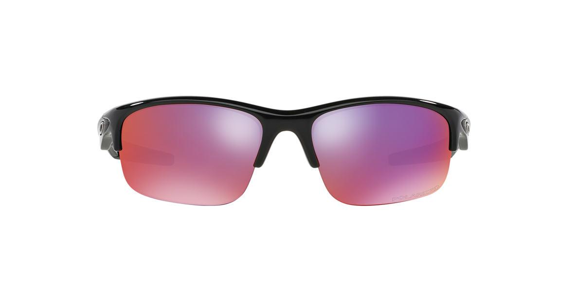 OAKLEY Black Shiny OO9164 BOTTLE ROCKET Red polarized lenses 62mm