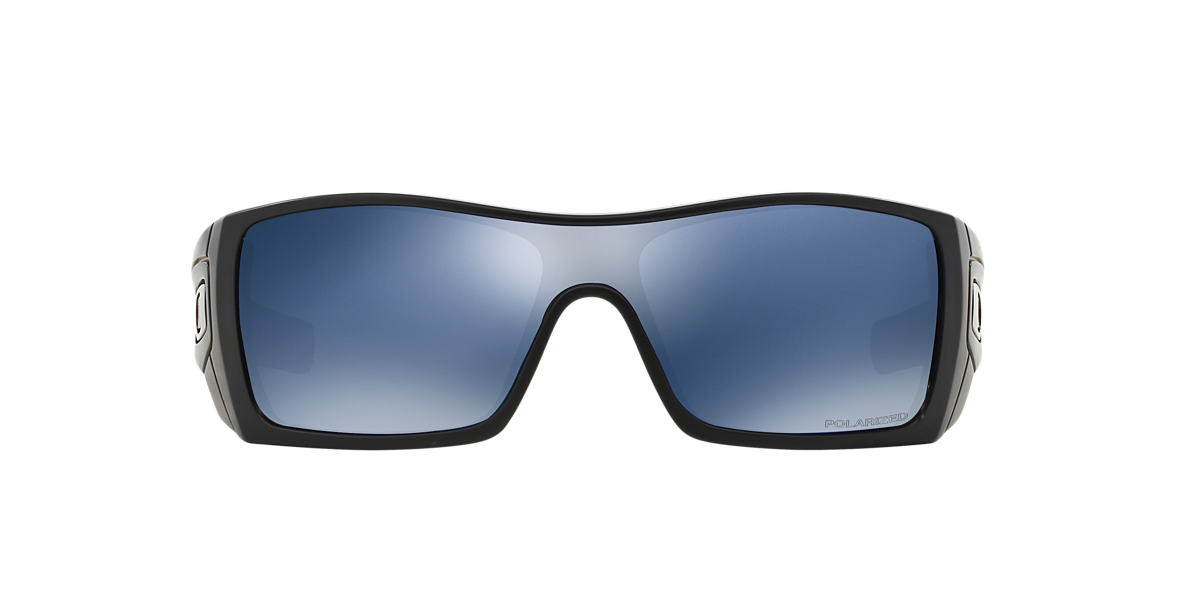 OAKLEY Black OO9101 Blue polarised lenses 13mm