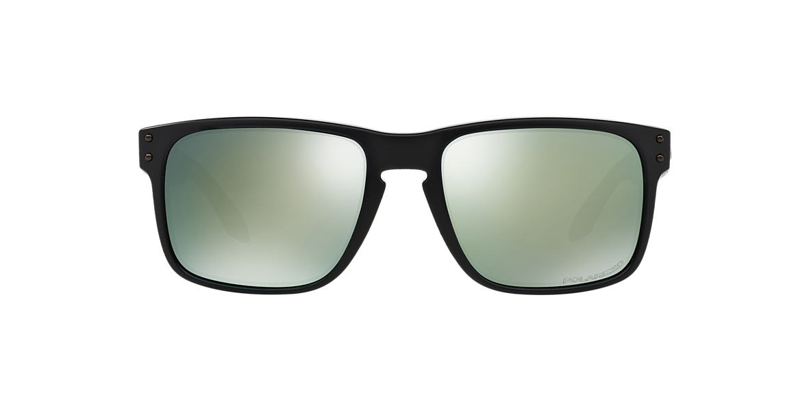 OAKLEY Black Matte OO9102 (55) Green polarized lenses 55mm
