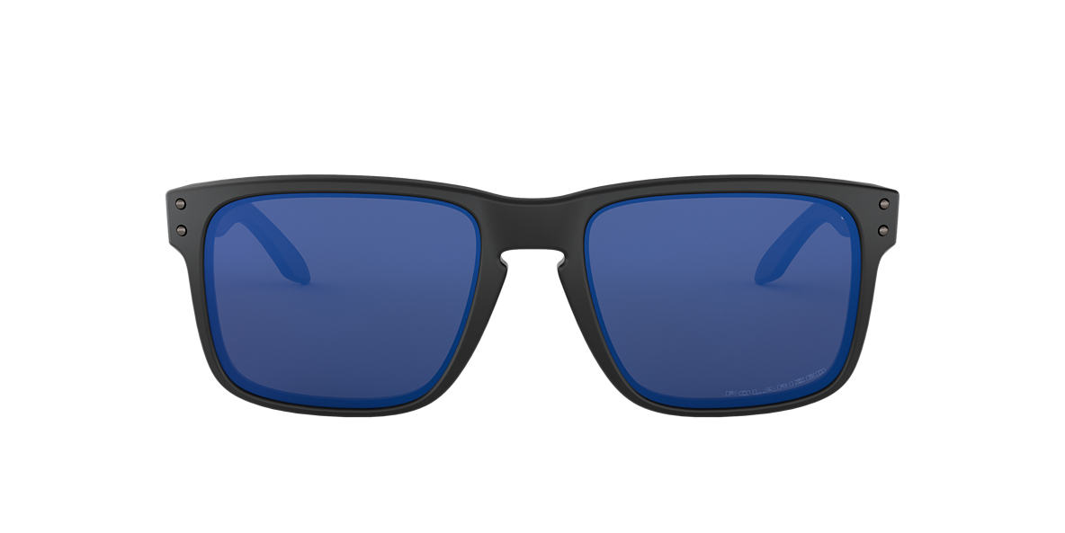 OAKLEY Black Matte OO9102 (55) Blue polarized lenses 55mm