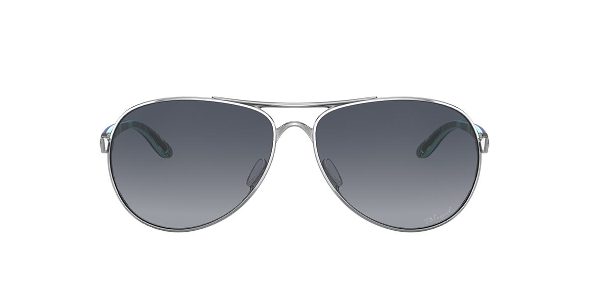 OAKLEY Silver OO4079 FEEDBACK Grey polarised lenses 59mm