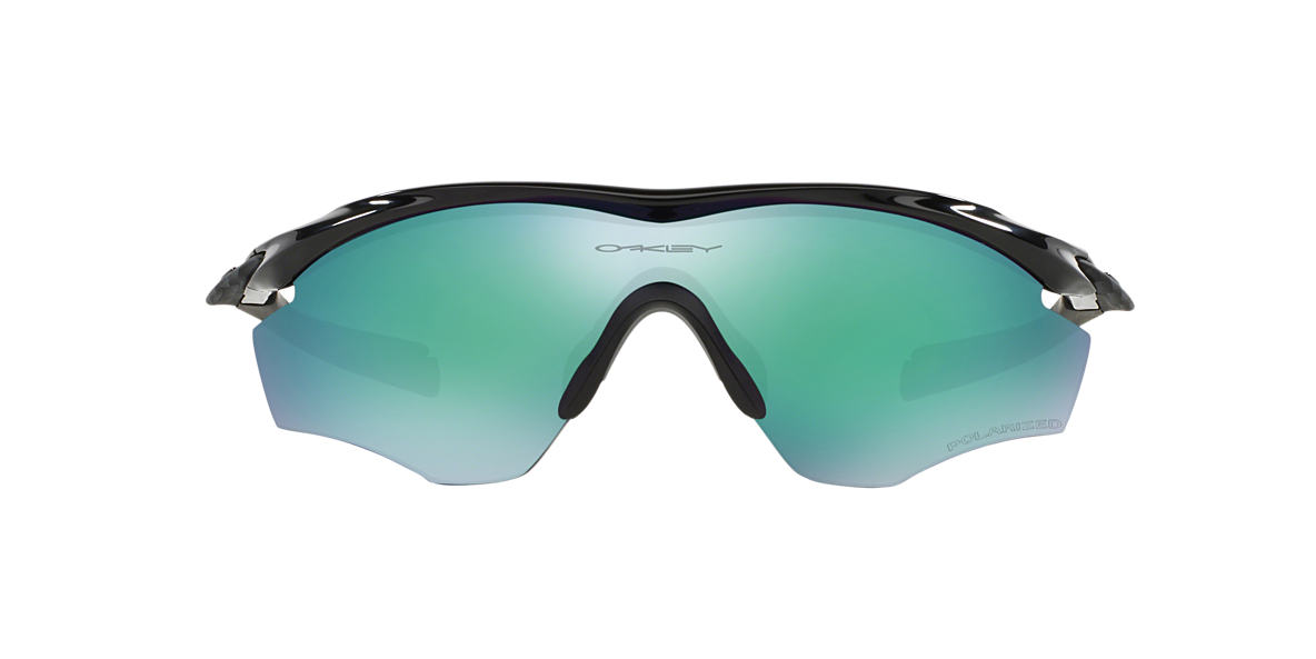 OAKLEY Black OO9212 M2 Green polarised lenses 39mm