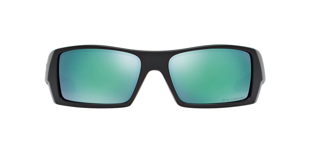 OAKLEY Black Matte OO9014 GASCAN Green polarized lenses 61mm