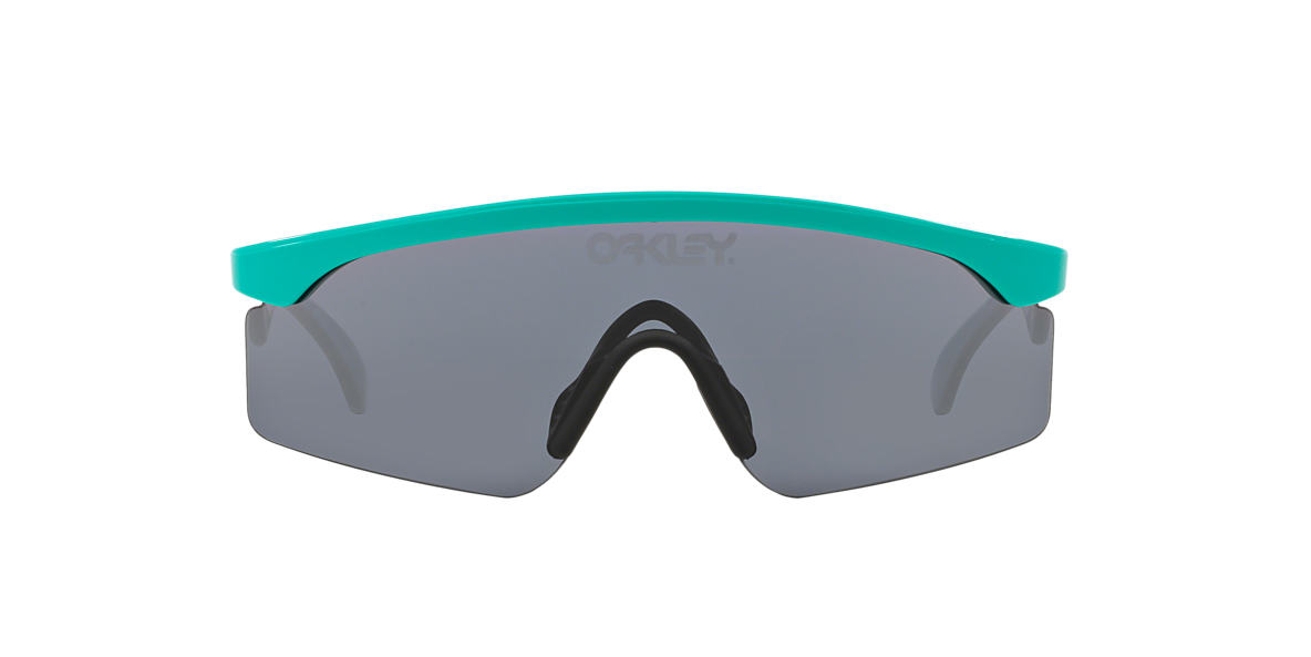 OAKLEY Blue OO9140 RAZORBLADES Grey lenses mm