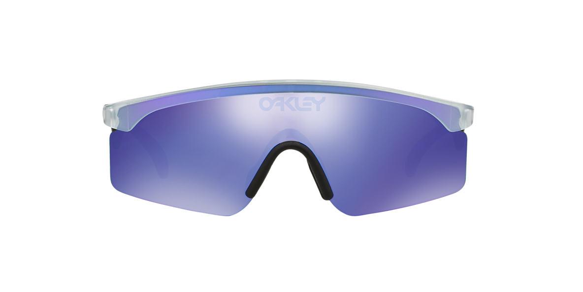 OAKLEY Clear OO9140 RAZORBLADES Purple lenses mm