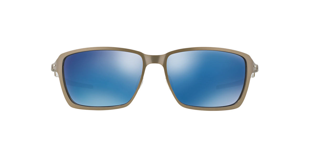 OAKLEY Silver OO4082 TINCAN Blue lenses 58mm