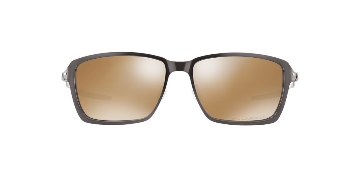 OAKLEY Gunmetal OO4082 TINCAN Brown polarized lenses 58mm