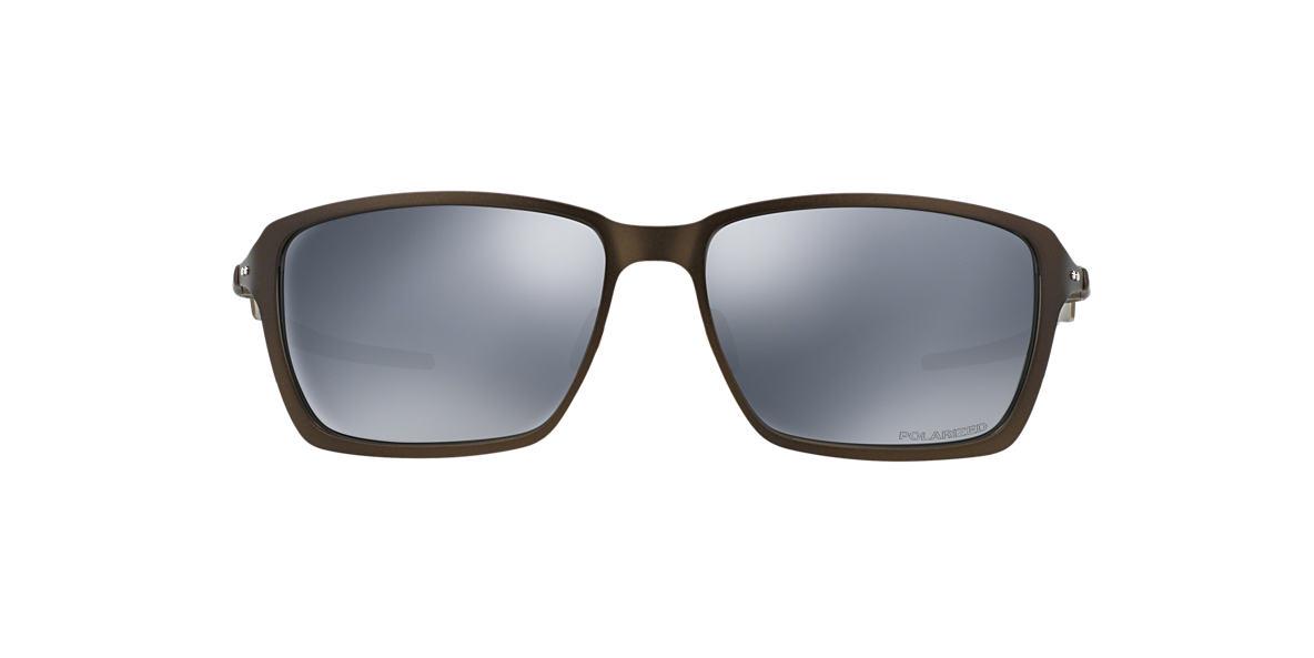 OAKLEY Silver OO4082 TINCAN Black polarized lenses 58mm