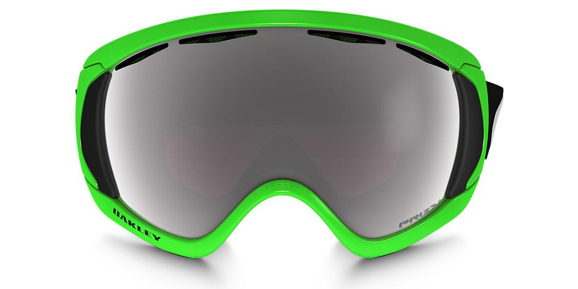 OAKLEY GOGGLES Green OO7047 00 CANOPY Black lenses mm