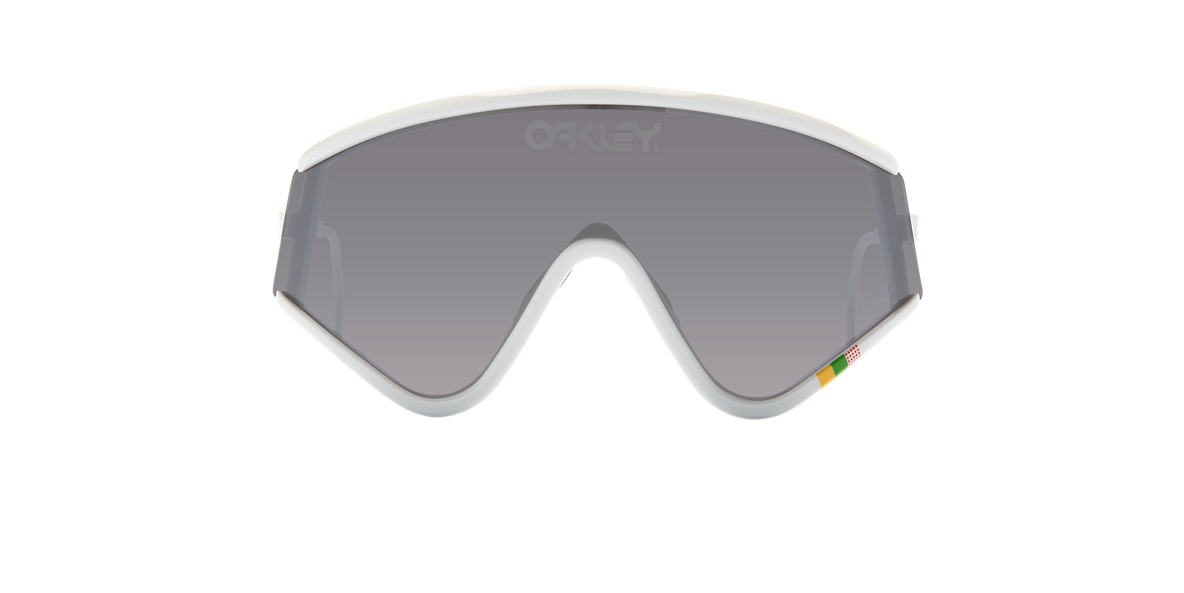 OAKLEY White OO9259 EYESHADE Black lenses mm