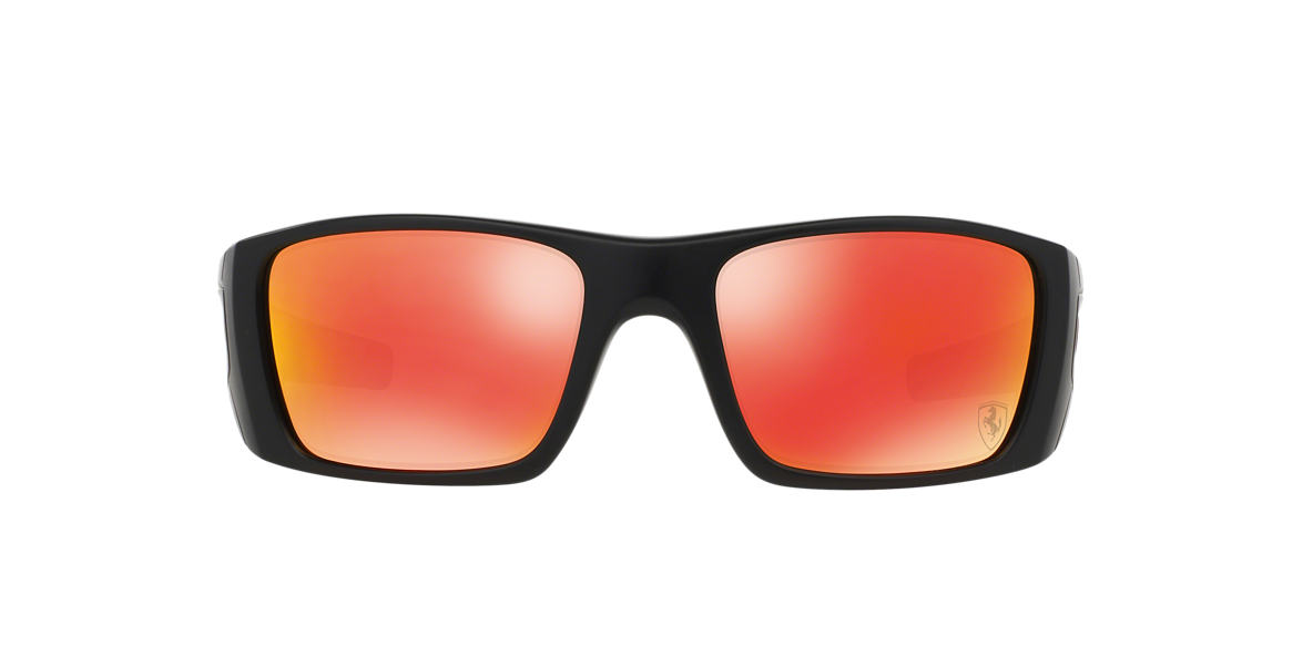 OAKLEY Black OO9096 FUEL CELL Red lenses 60mm