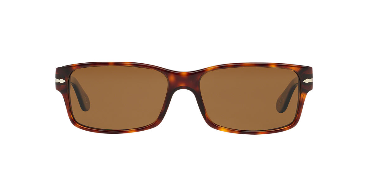PERSOL Tortoise PO2803S 58 Brown polarized lenses 58mm