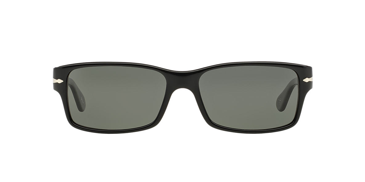 PERSOL Black PO2803S 58 Green polarized lenses 58mm