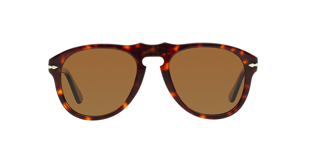 PERSOL Tortoise PO0649 54 Brown polarized lenses 54mm