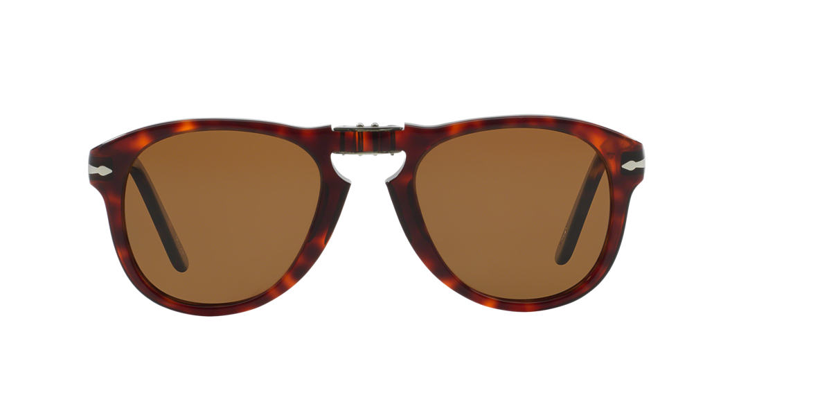 PERSOL Brown PO0714SM (54) Brown polarized lenses 54mm