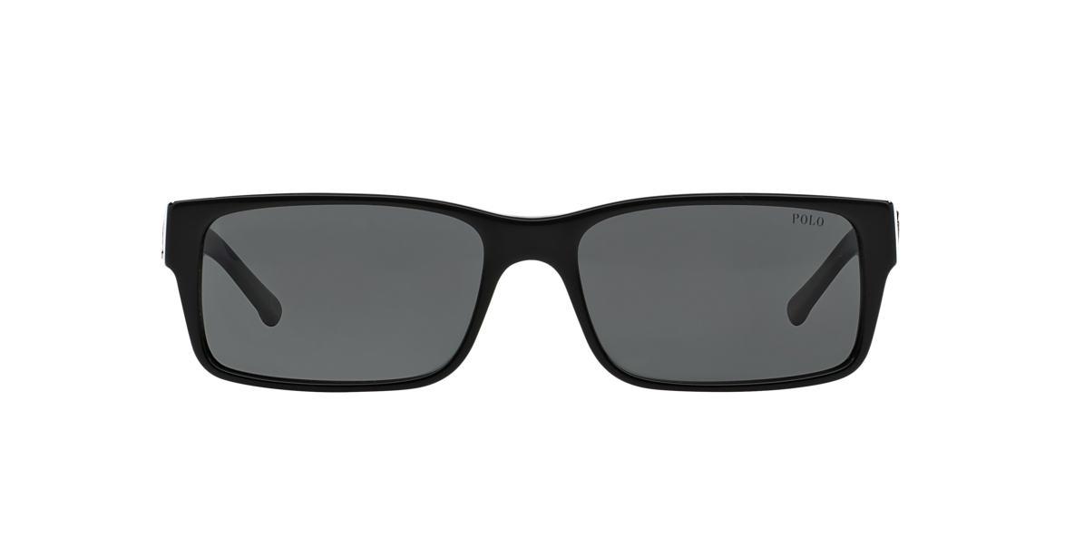POLO RALPH LAUREN Black PH4049 Grey lenses 57mm
