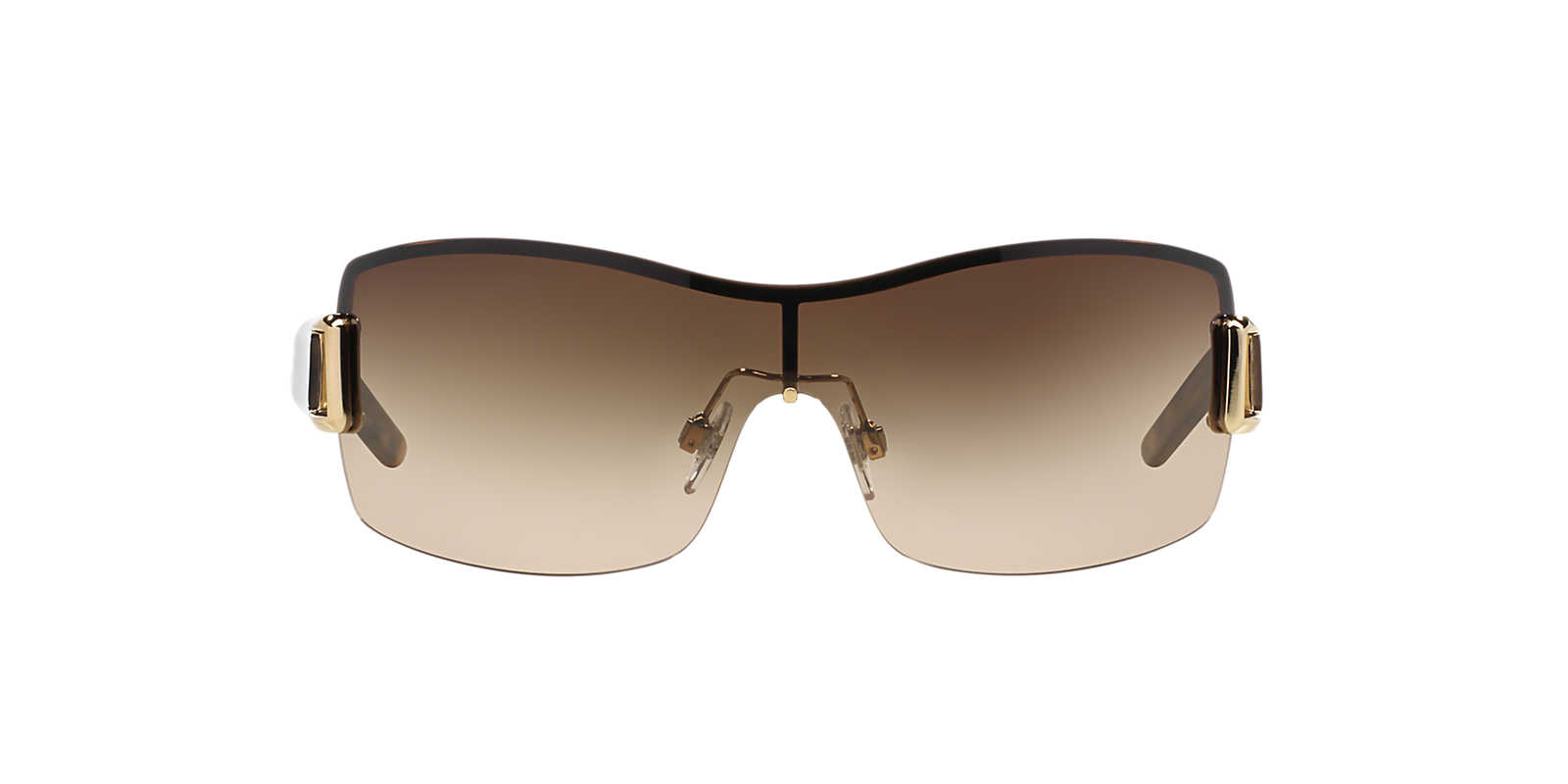 burberry sport sunglasses 1mrn  BURBERRY Gold BE3043 Brown lenses 31mm