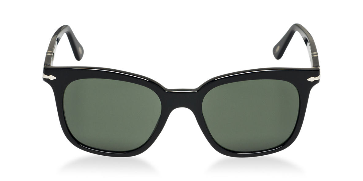 PERSOL Black PO2999S Green lenses 52mm