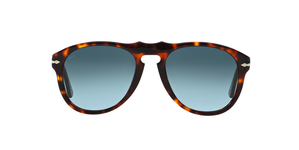 PERSOL Brown PO0649 54 Grey lenses 54mm