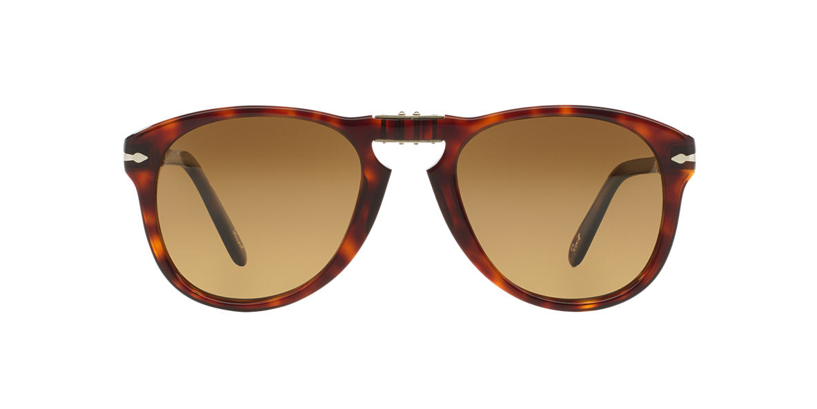 PERSOL Tortoise PO0714SM (54) Brown polarized lenses 54mm