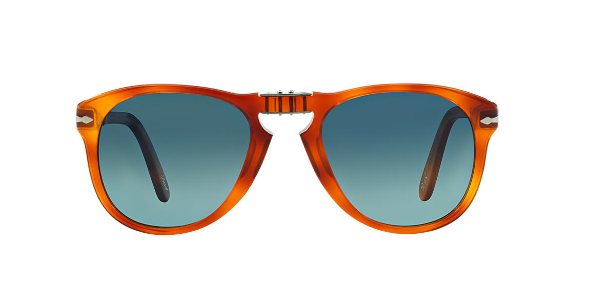 PERSOL  PO0714SM (54) Blue polarised lenses 54mm