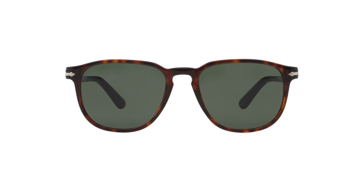 PERSOL Tortoise PO3019S 52 Green lenses 52mm