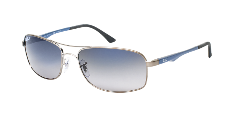 b5f9abd880 RAY BAN Sunglasses RB 3484 029 78 Matte Gunmetal 60mm