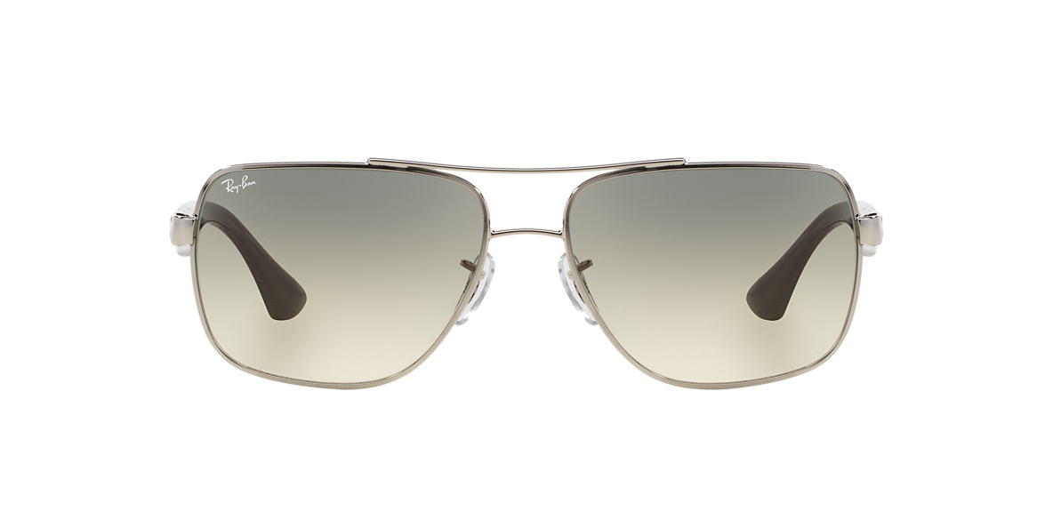 RAY-BAN Silver RB3483 60 Grey lenses 60mm