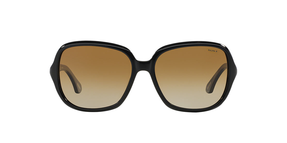 RALPH Black RA5149 Brown polarized lenses 58mm